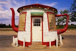 13. La Estación de Servicio Teapot Dome, Washington, Estados Unidos. Foto:GETTY IMAGES. Imagen Por: