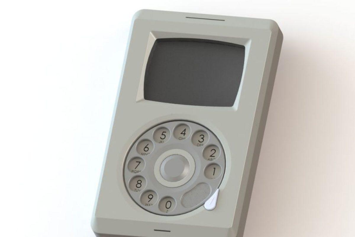El iPhone (antes del iPhone) Foto:Pierre Cerveau. Imagen Por: