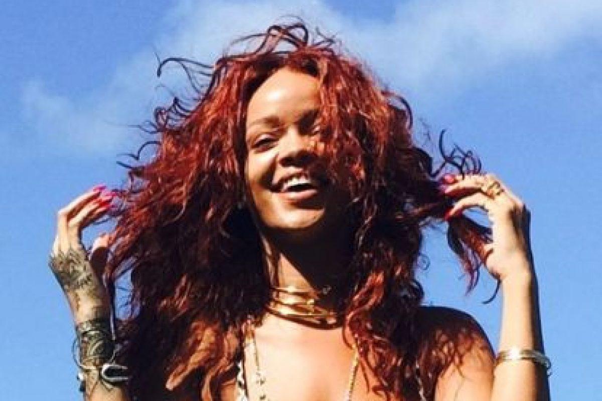 La maquillista aseguró que Rihanna es audaz, en cuanto a moda se refiere. Foto:vía instagram.com/badgalriri. Imagen Por: