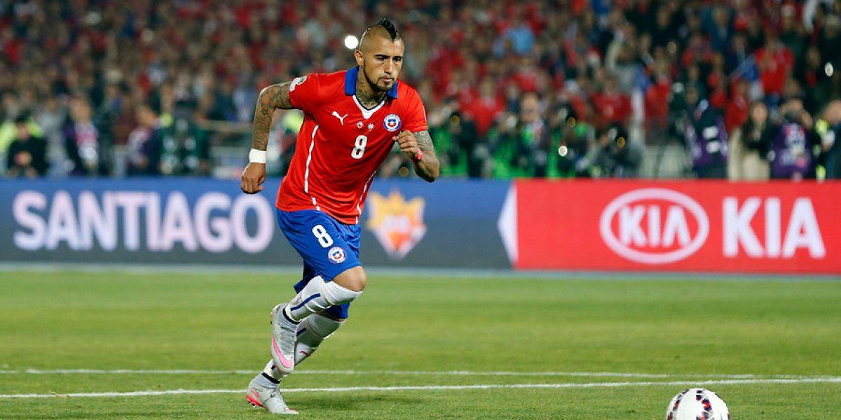En Alemania no escatiman en elogios para Vidal: