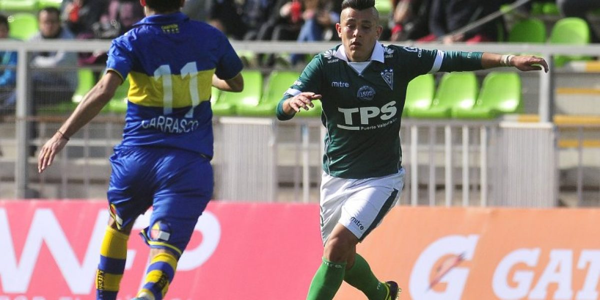 Everton dio el gran golpe en cancha y venció a Wanderers en el Clásico Porteño