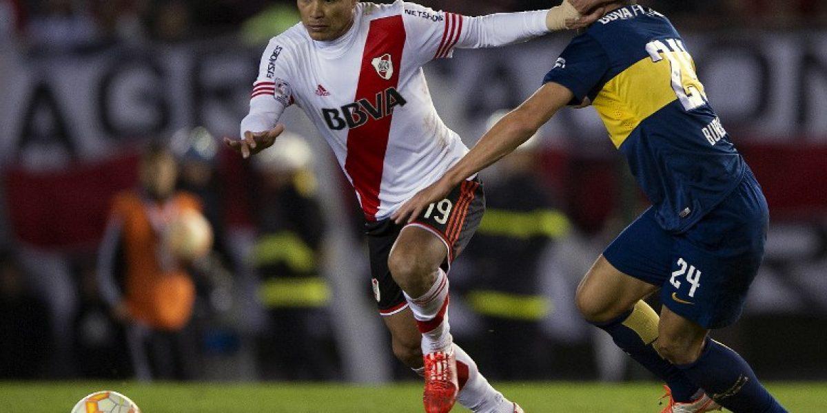 Teo Gutiérrez deja River Plate para probar suerte en Portugal