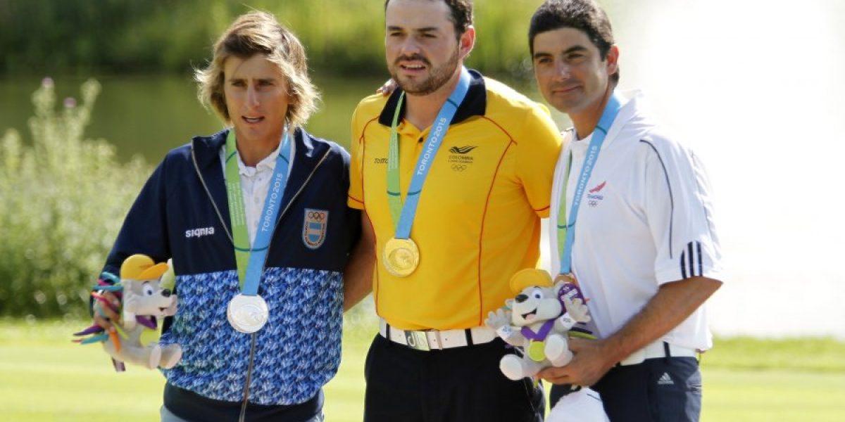Felipe Aguilar debió conformarse con el bronce en el golf de Toronto 2015