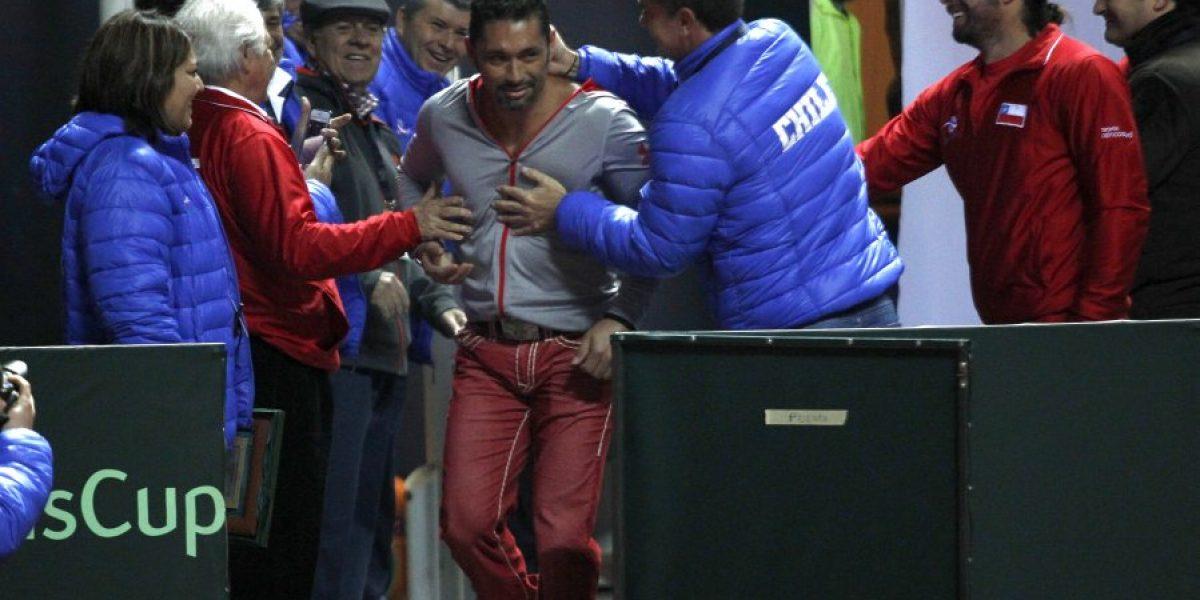 Seguimiento a Marcelo Ríos: las emociones le afloraron al Chino en Talcahuano