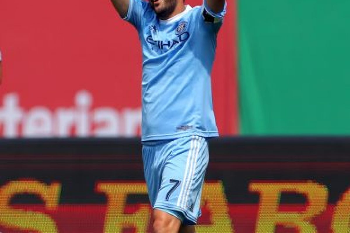 David Villa Foto: Getty Images. Imagen Por: