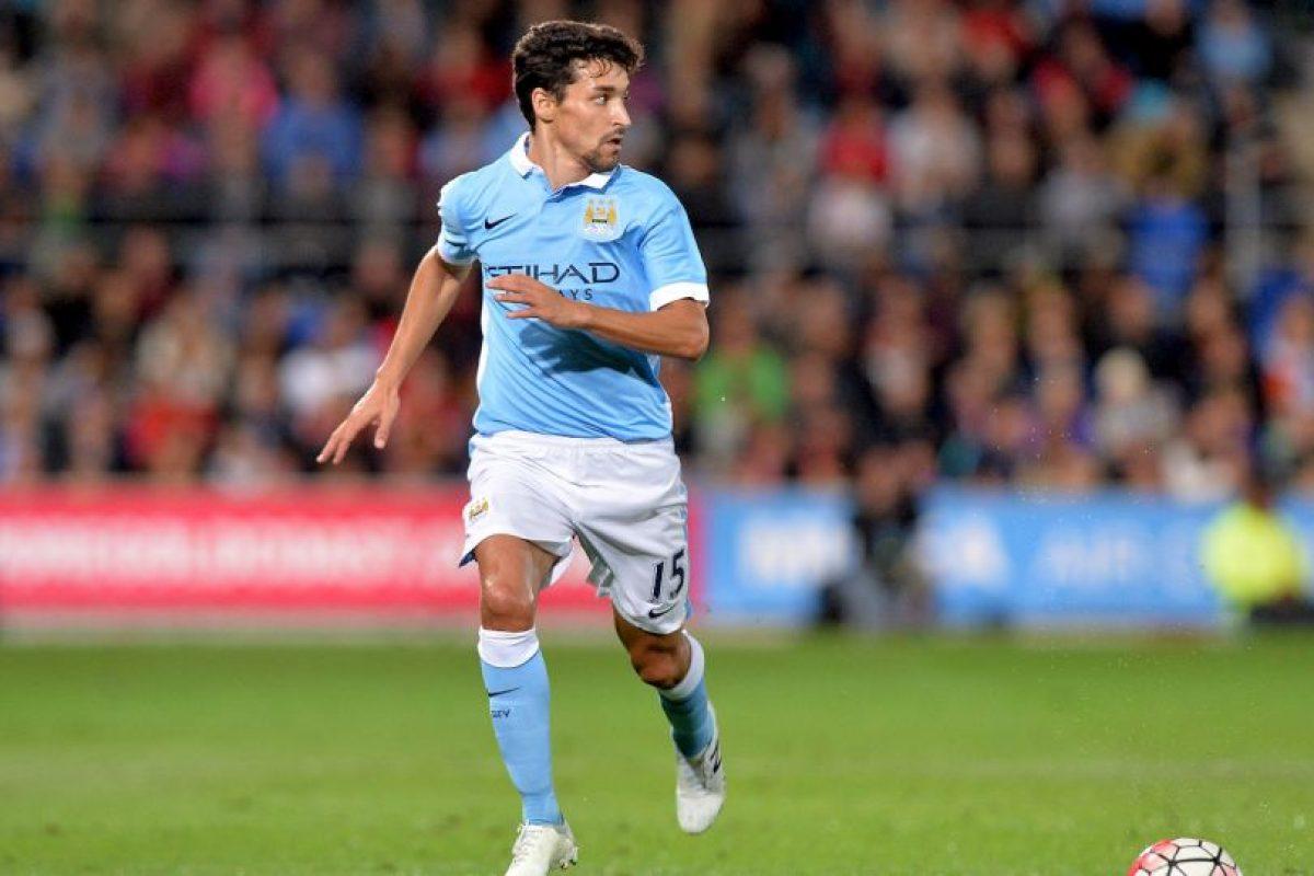 Jesús Navas se embolsa 4.9 millones de dólares en el Manchester City Foto:Getty Images. Imagen Por: