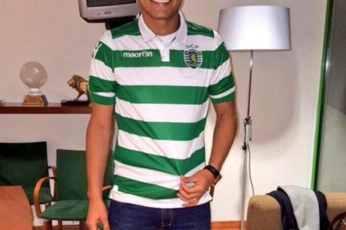 Teo ahora juega en el Sporting de Lisboa Foto:Vía twitter.com/TeoGolR. Imagen Por: