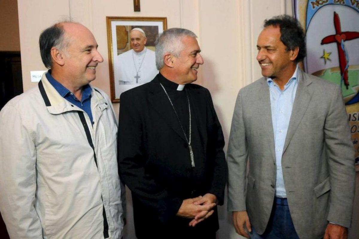 Actualmente se desempeña como gobernador de la provincia de Buenos Aires Foto:Facebook.com/danielsciolioficial. Imagen Por: