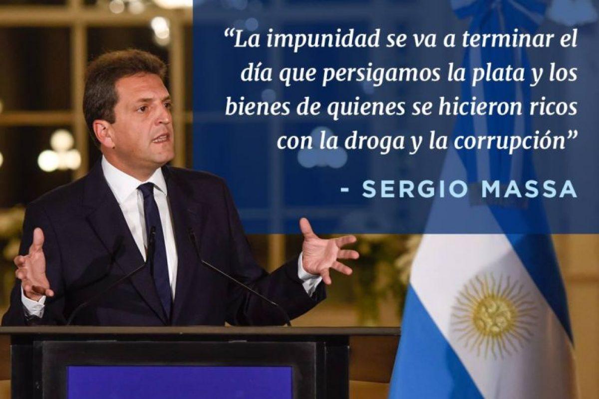 2. Sergio Massa, del partido Frente Renovador. Foto:Facebook.com/SergioMassaOK. Imagen Por: