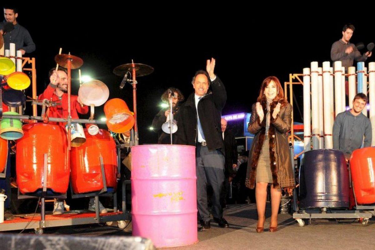 Es el único precandidato del partido liderado por Cristina Fernández Foto:Facebook.com/danielsciolioficial. Imagen Por: