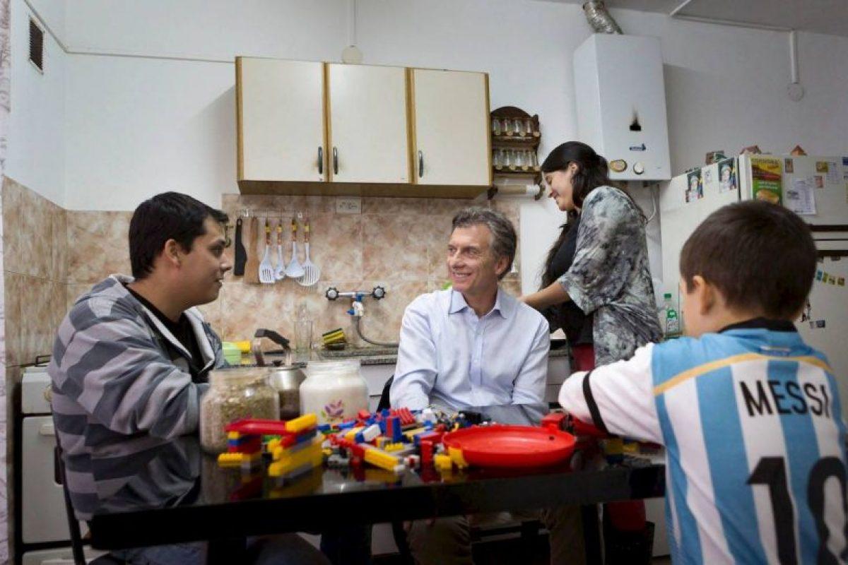 Es el actual jefe de gobierno de la Ciudad de Buenos Aires. Foto:Facebook.com/mauriciomacri. Imagen Por: