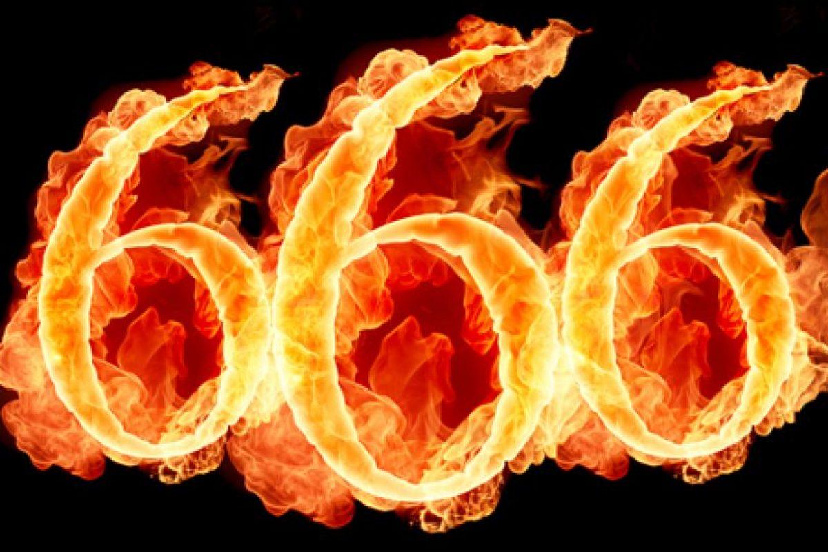 Hexakosioihexekontahexafobia: Aversión al número 666 Foto:Reproducción. Imagen Por: