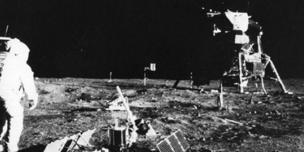 Una mirada desde el espacio a 46 años de la  llegada del hombre a la Luna