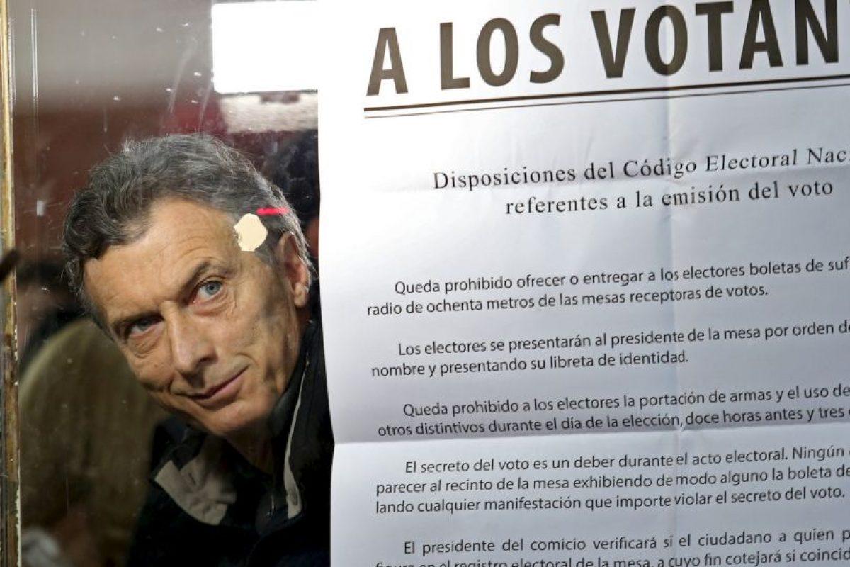 """""""Con este resultado, Macri sale fortalecido para ser candidato a las elecciones presidenciales"""", explica Eduardo Rosales Herrera. Foto:AP. Imagen Por:"""