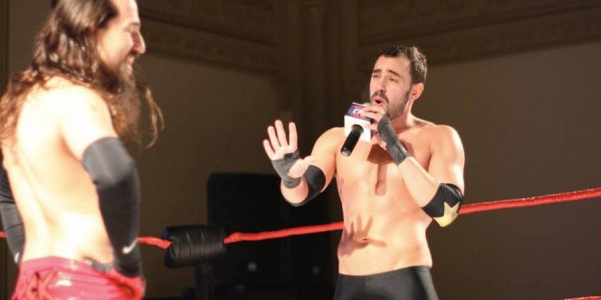 A lo crack: Ariel Levy debutó en la lucha libre con una victoria