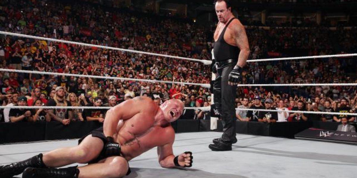 The Undertaker retornó en Battleground y cobró revancha ante Brock Lesnar