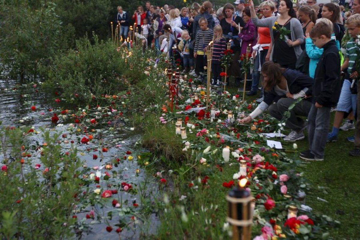 Pocas horas después, Anders se infiltró en los cuerpos de seguridad Foto:Getty Images. Imagen Por: