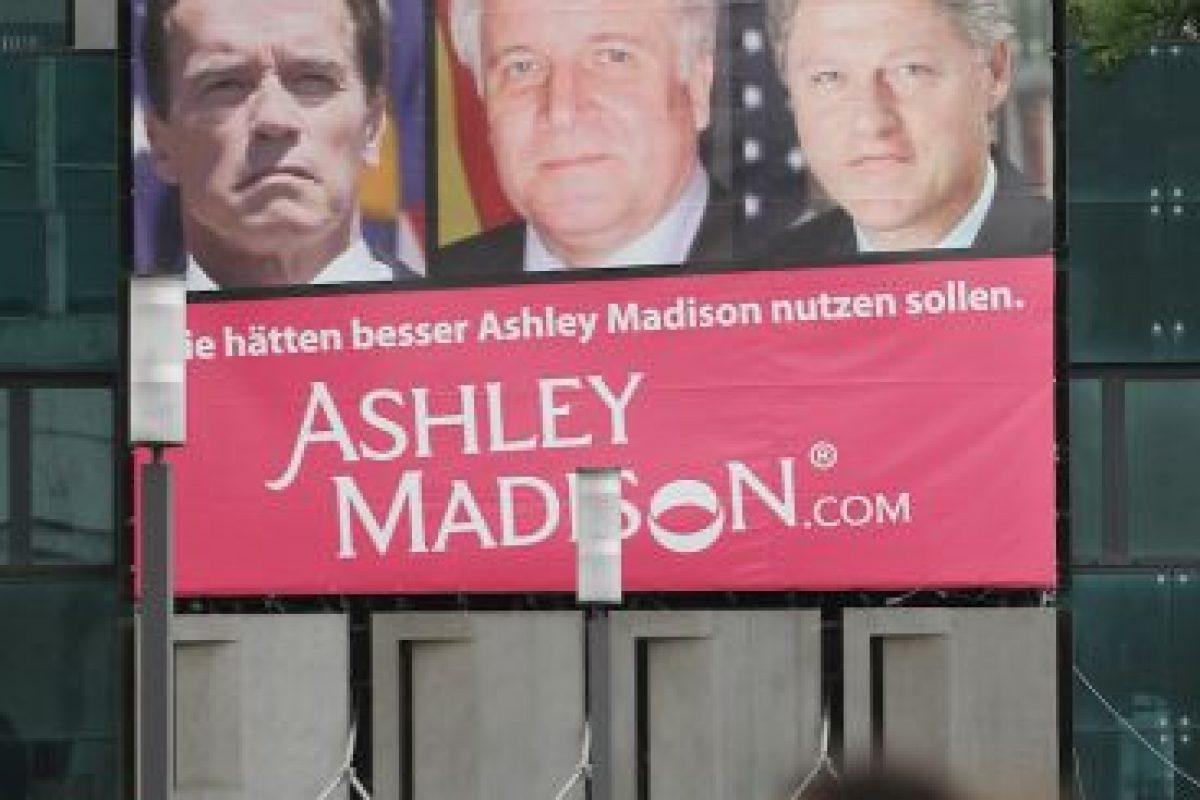 La promoción de este sitio de citas fue un escándalo cuando involucró a varios políticos estadounidenses Foto:Getty Images. Imagen Por:
