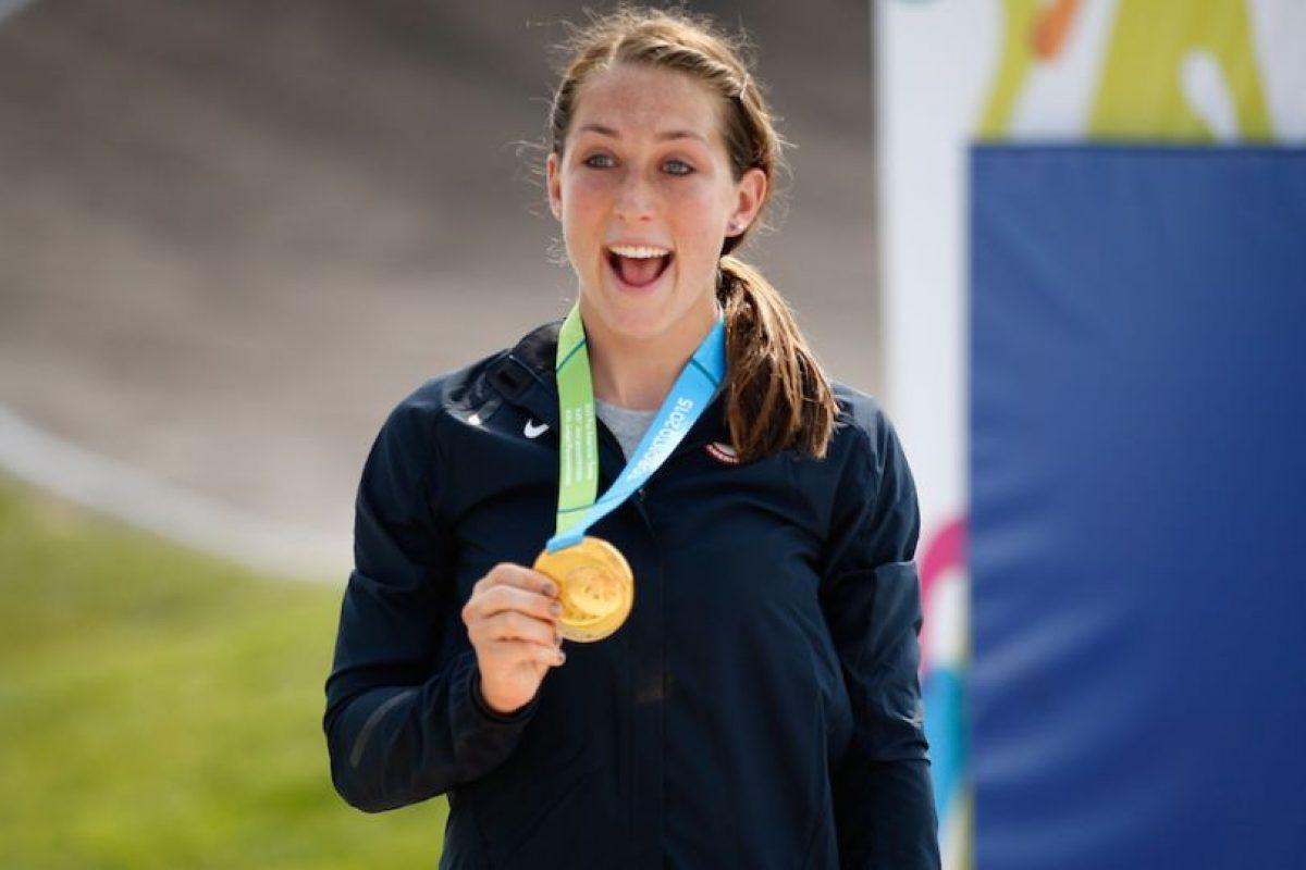 Felicia Stancil de Estados Unidos ganó oro en BMX femenino. Foto:Getty Images. Imagen Por: