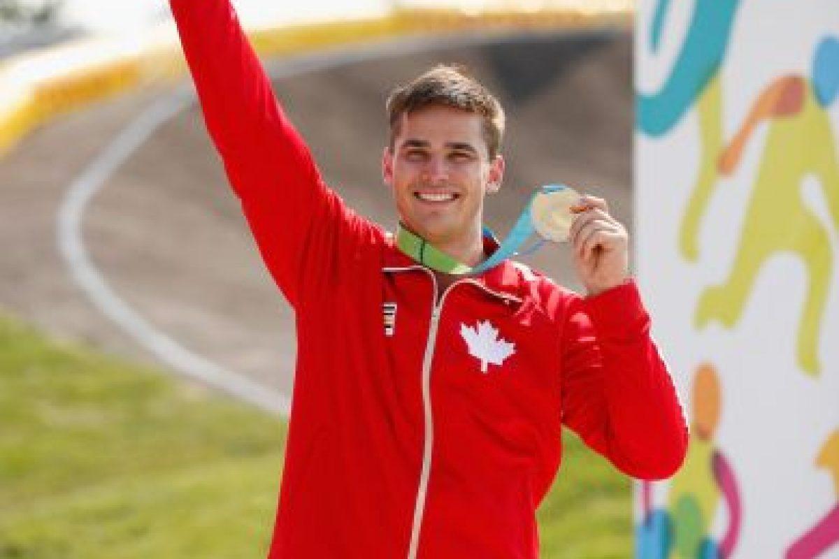 Tory Nyhaug ganó oro en BMX masculino. Foto:Getty Images. Imagen Por: