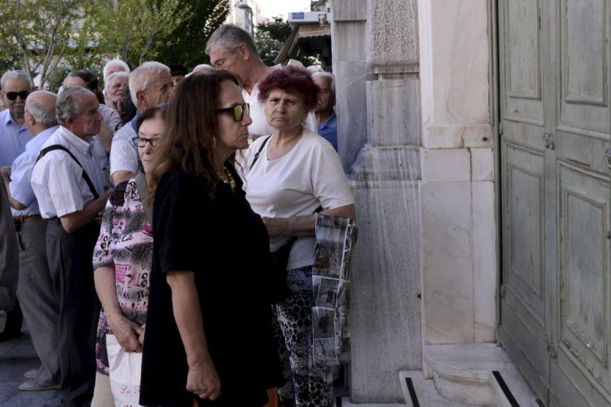 Aunque el 61.3% rechazó lo impuesto por el Eurogrupo… Foto:Getty Images. Imagen Por: