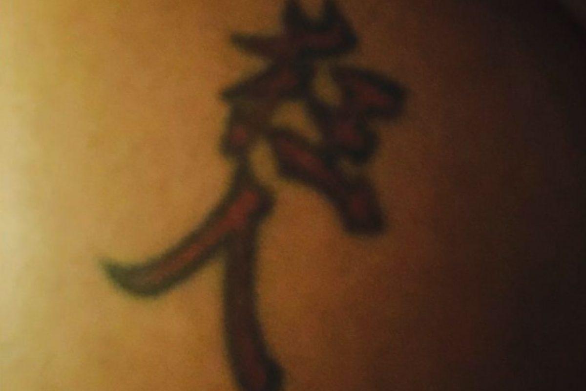"""Esta mujer pensó que el tatuaje de su esposo quería decir """"Amor a Dios"""". En realidad significa """"hombre loco"""" Foto:Hanzismatter.blogspot. Imagen Por:"""