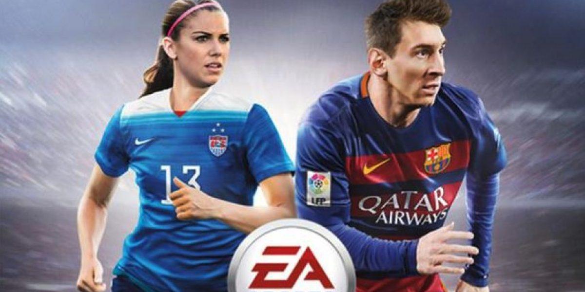 Esta es la mujer que acompañará a Messi en portada de FIFA 16