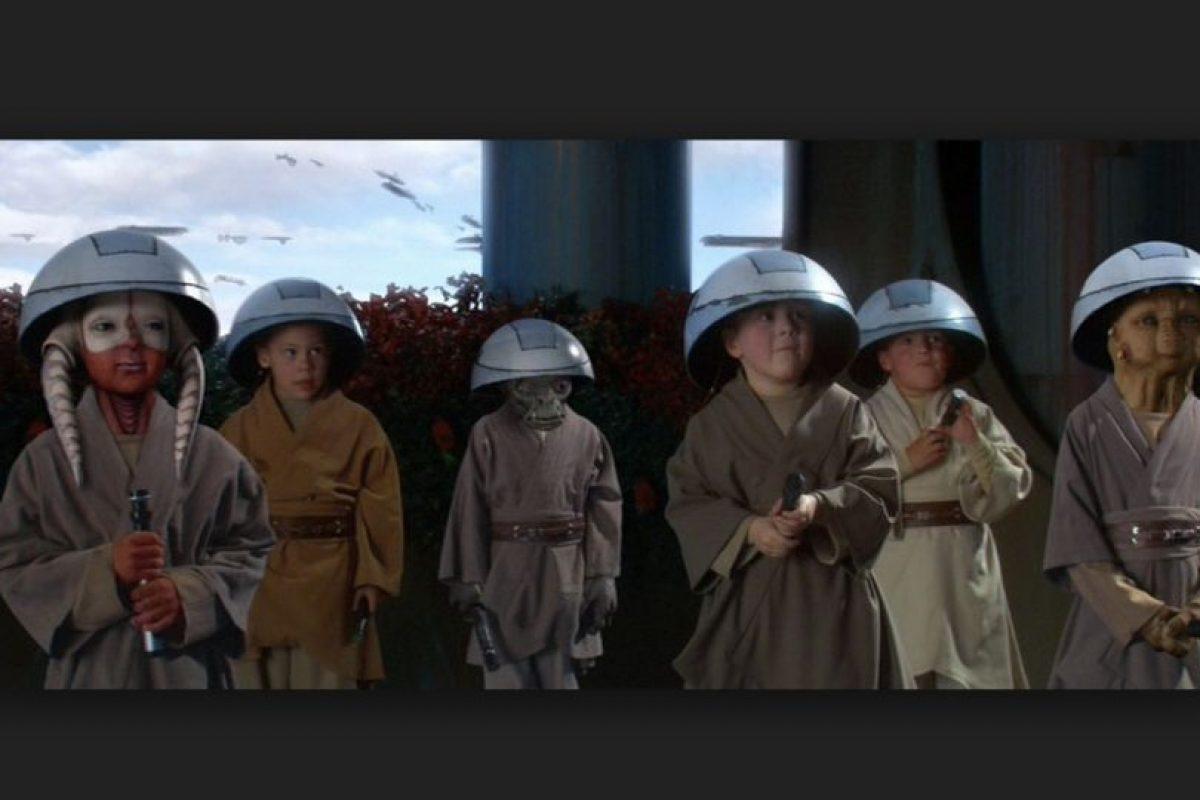 El objetivo de la filosofía Jedi no es sólo obtener el máximo poder de la Fuerza desde pequeños Foto:Wikia/Star Wars. Imagen Por: