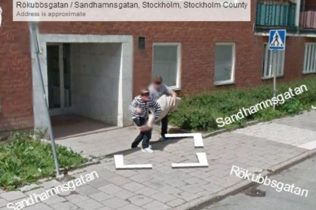 O robando mucho más. Foto:vía Google Street View. Imagen Por: