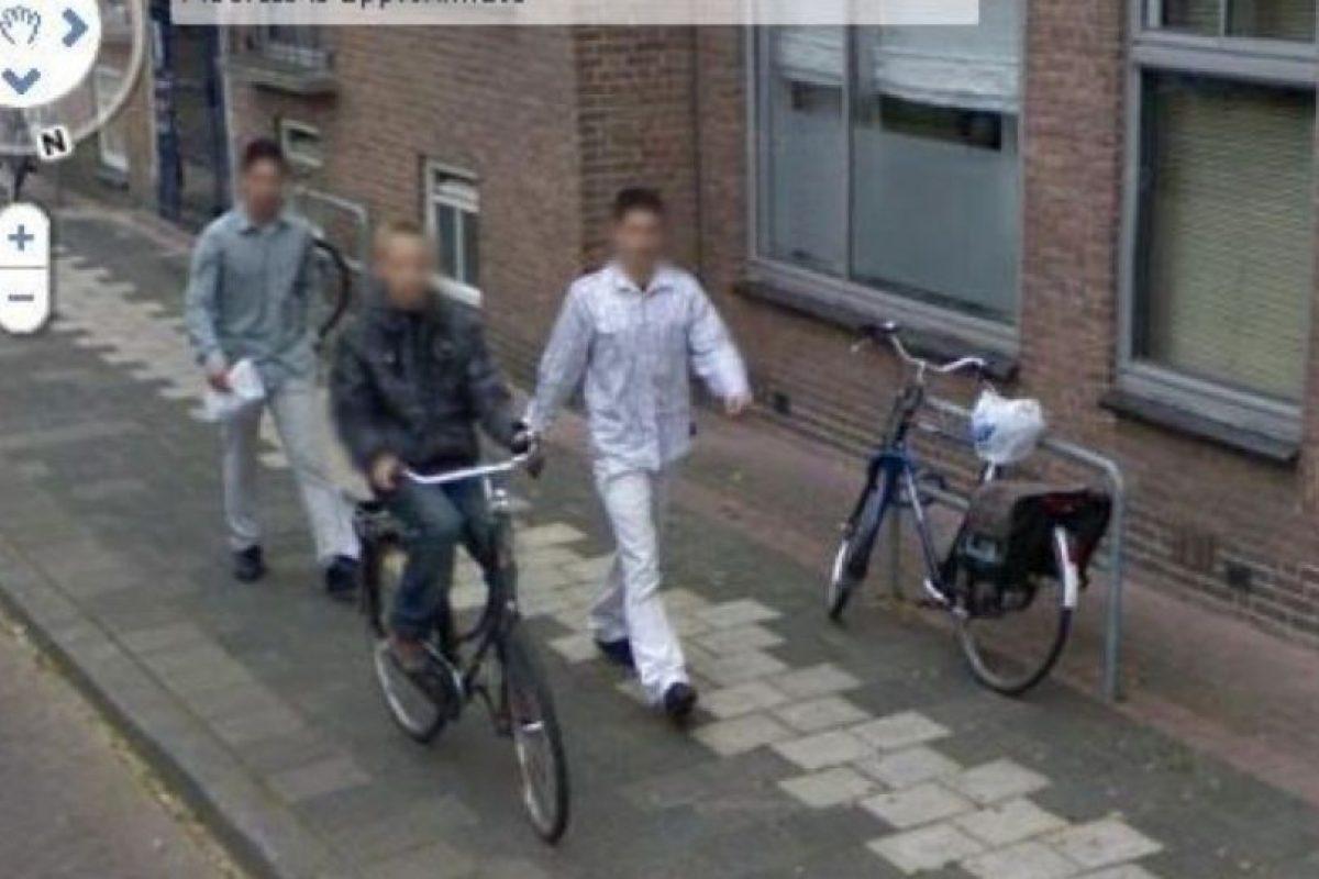 O robando. Foto:vía Google Street View. Imagen Por:
