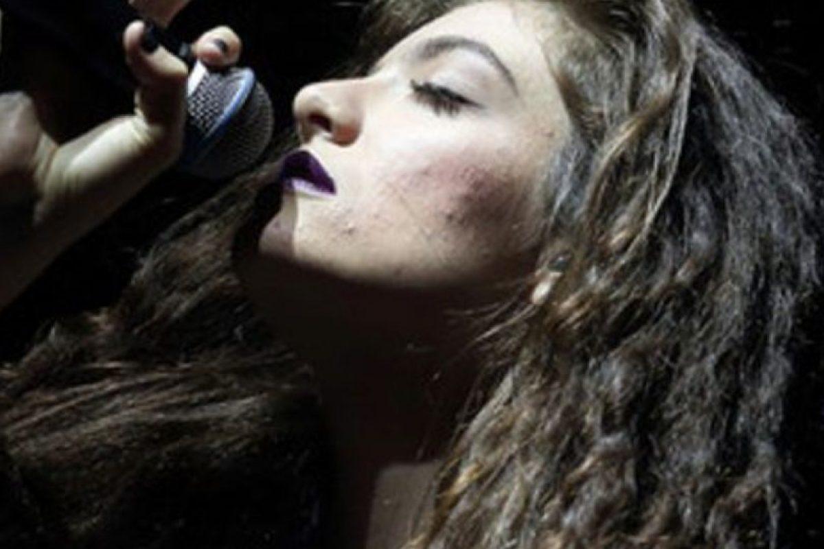 Lorde está en plena adolescencia… Foto:vía Getty Images. Imagen Por: