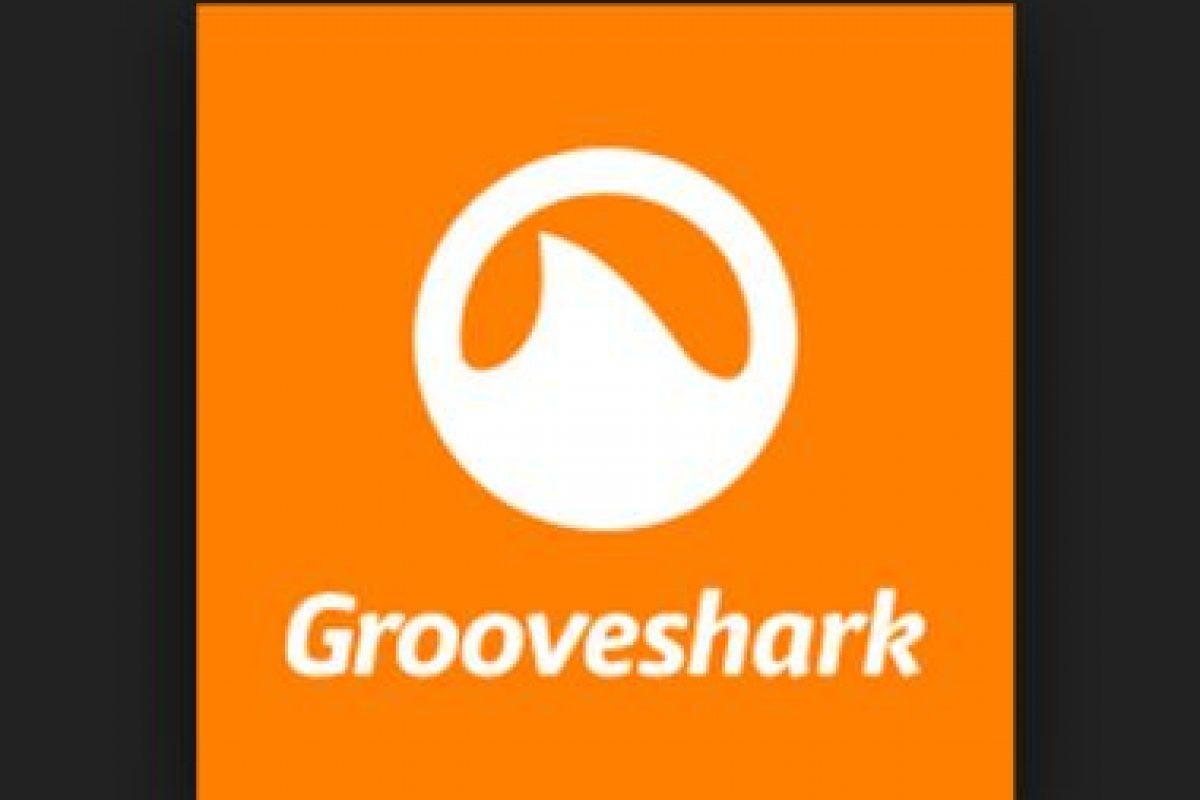 """Recientemente el sitio de música """"online"""" cerró sus puertas Foto:Grooveshark. Imagen Por:"""