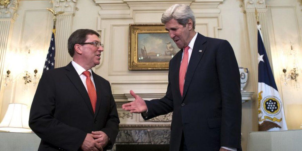 Ministro de Exteriores cubano se reunió con John Kerry