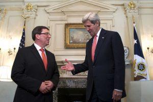 Ambos funcionarios reconocieron que no sería fácil que las nuevas relaciones diplomáticas dieran resultados rápidamente. Foto:AP. Imagen Por:
