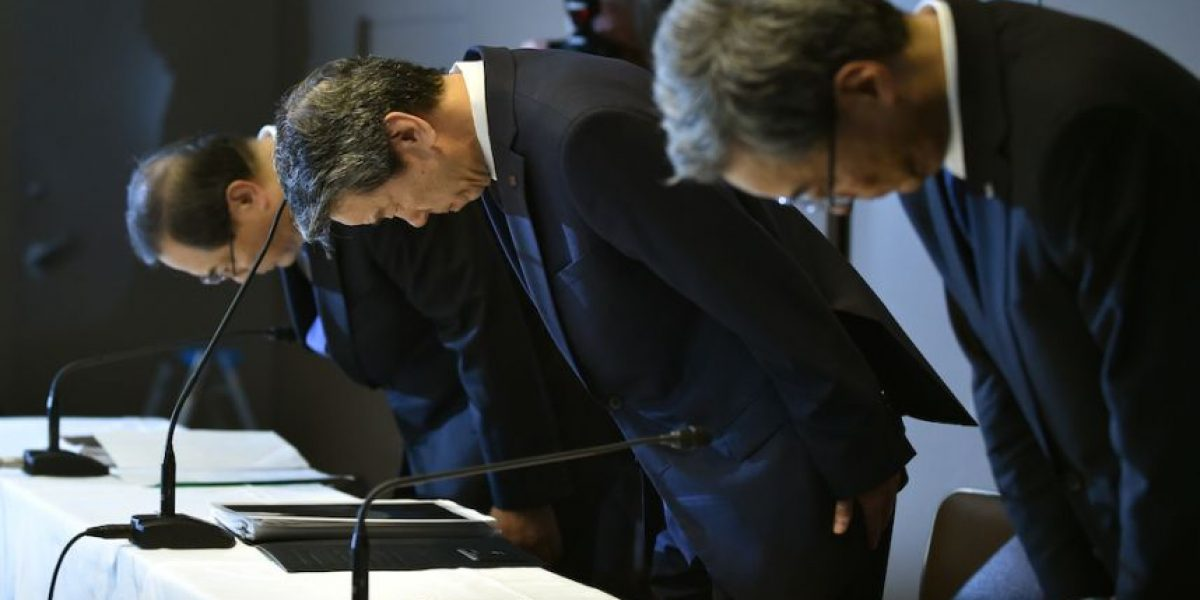 ¿Qué tan arrepentido estaba el CEO de Toshiba acusado de corrupción?