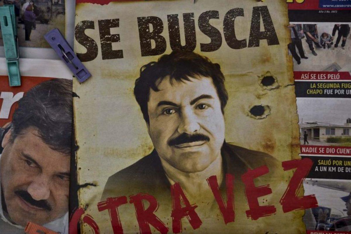 La noticia del escape del narcotraficante dio la vuelta al mundo. Foto:AFP. Imagen Por: