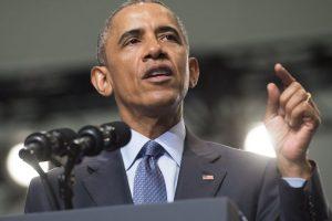 El presidente estadounidense Barack Obama, dio un discurso en la Convención Nacional 116a de los Veteranos de Guerras Extranjeras. Foto:AFP. Imagen Por: