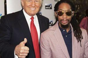 Con el cantante Lil Jon Foto:Instagram.com/RealDonaldTrump. Imagen Por: