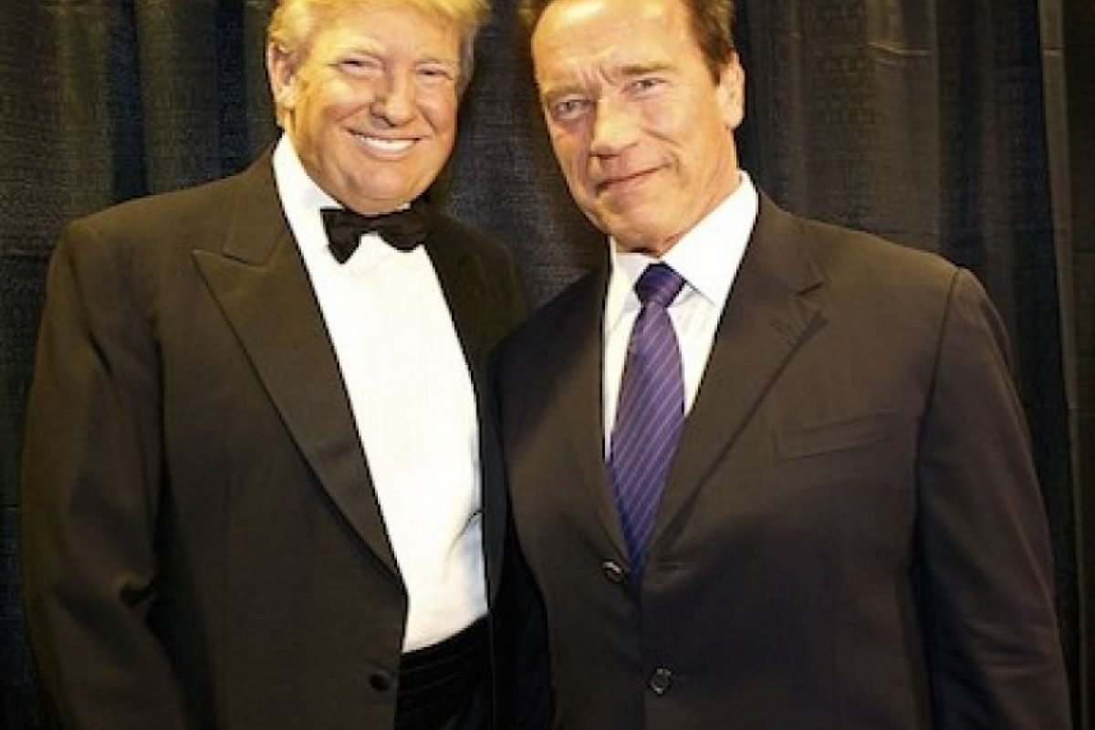 Arnold Schwarzenegger Foto:Instagram.com/RealDonaldTrump. Imagen Por: