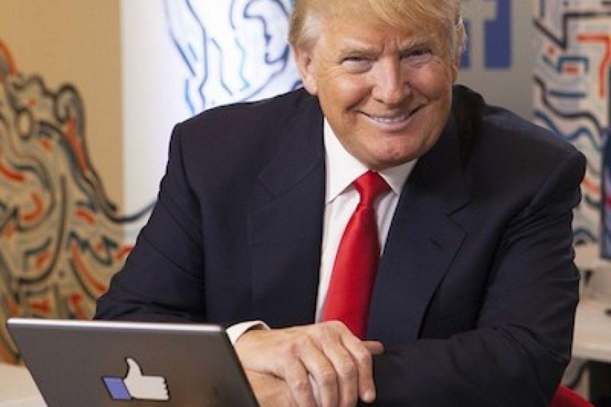 Desde antes de ser candidato, el empresario compartió en su cuenta de Instagram algunas fotos con otras celebridades Foto:Instagram.com/RealDonaldTrump. Imagen Por: