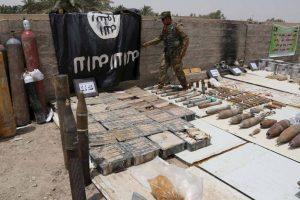 Posiblemente suceda debido a que el grupo terrorista se esta quedando sin municiones. Foto:Getty Images. Imagen Por: