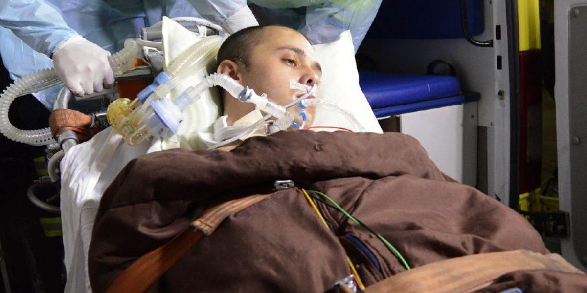 Rodrigo Avilés sería dado de alta hoy tras dos meses hospitalizado