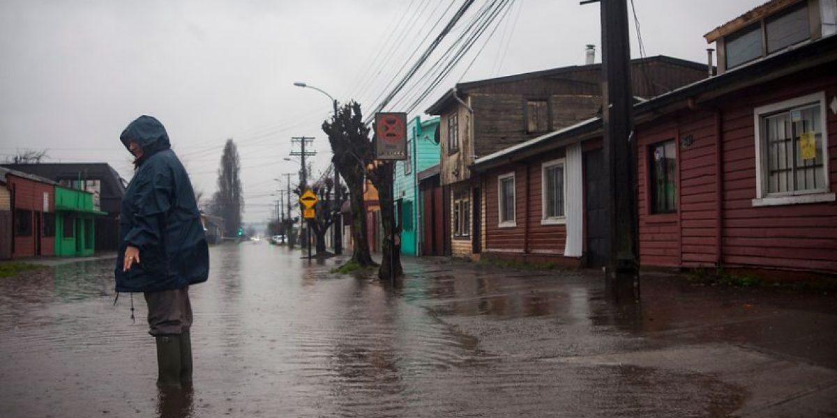 Sistema frontal motiva declaración de Alerta Preventiva en Chiloé