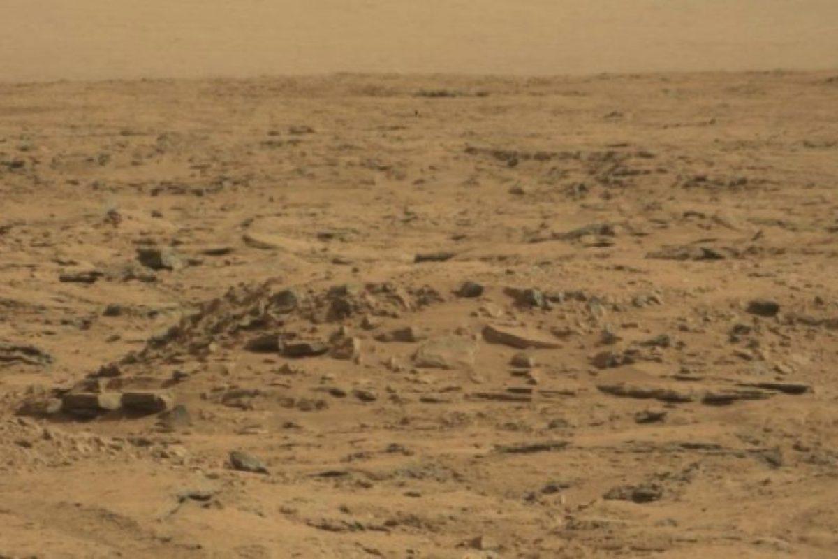 Esta es la foto oficial difundida por la NASA Foto:NASA. Fotografía original en http://mars.jpl.nasa.gov/msl-raw-images/msss/00064/mcam/0064MR0285001000E1_DXXX.jpg. Imagen Por:
