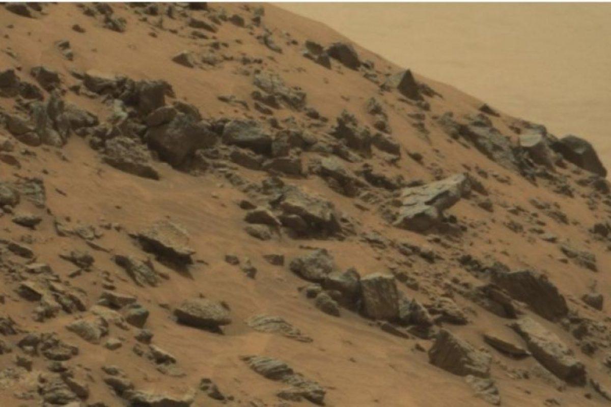 Fue descubierta en junio de 2015. Foto:NASA. Foto original en http://mars.nasa.gov/msl/multimedia/raw/?rawid=0978MR0043250040502821E01_DXXX&s=978. Imagen Por: