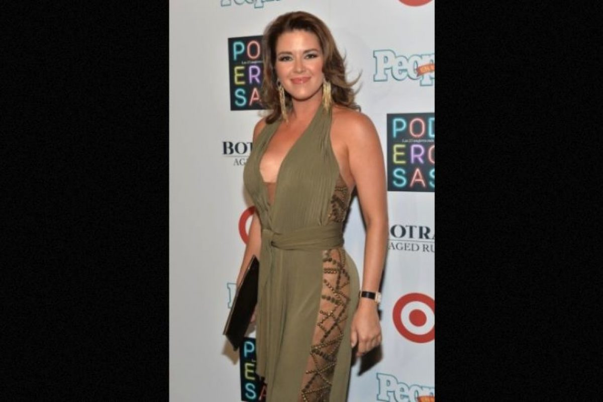 Alicia Machado Foto: Getty Images. Imagen Por: