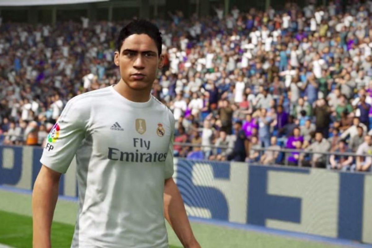 Raphaël Varane en el FIFA 16. Foto:EA Sports. Imagen Por: