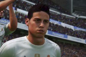 James Rodríguez en el FIFA 16. Foto:EA Sports. Imagen Por: