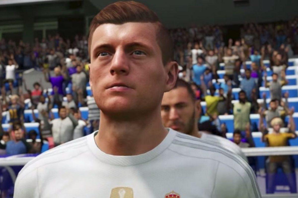 Toni Kroos en el FIFA 16. Foto:EA Sports. Imagen Por: