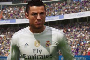 Cristiano Ronaldo en el FIFA 16. Foto:EA Sports. Imagen Por:
